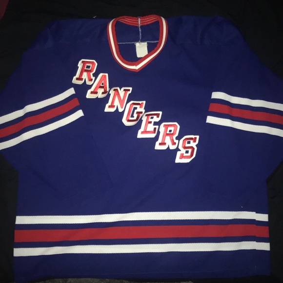 pretty nice 009ec 92d97 Vintage New York Rangers Jersey